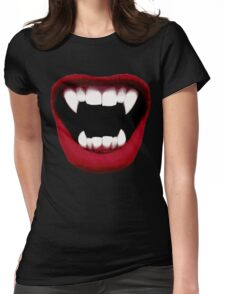 Vampire Smile Womens Fitted T-Shirt