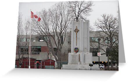 World War 1 Monument  by gypsykatz