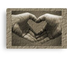 With love... Canvas Print