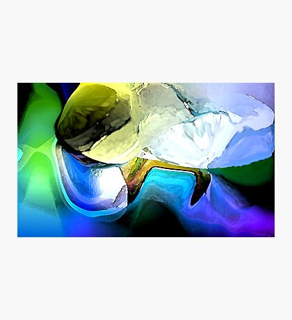 Cool Blue Photographic Print