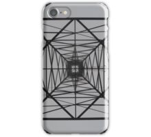 Electrical Symmetrical iPhone Case/Skin