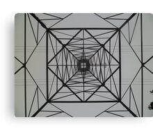 Electrical Symmetrical Canvas Print