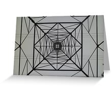 Electrical Symmetrical Greeting Card