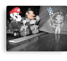 Mario, Donkey Kong!, and Barbie? Canvas Print