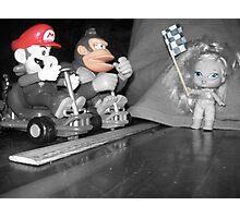 Mario, Donkey Kong!, and Barbie? Photographic Print