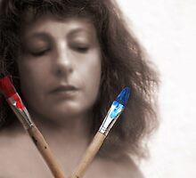 Portrait of an artist by JudyBJ