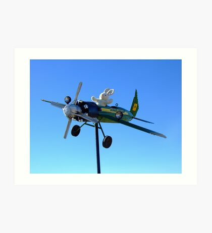 Mr Crop Duster Art Print