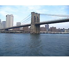 Brooklyn Bridge New York City Photographic Print