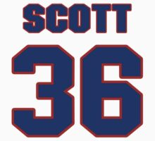 National baseball player Lefty Scott jersey 36 by imsport