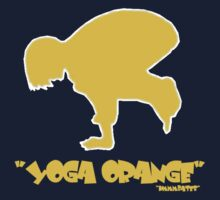 "yoga orange    ""pro"" by hmmmbates"