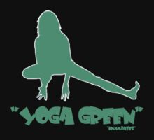 "yoga green     ""intermediate"" by hmmmbates"