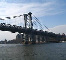 Manhatten Bridge NYC by Irene Clarke