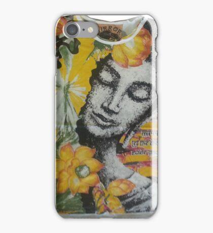 yoga men t shirt Buddha Ganesha cotton iPhone Case/Skin