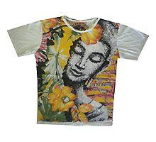 yoga men t shirt Buddha Ganesha cotton Photographic Print