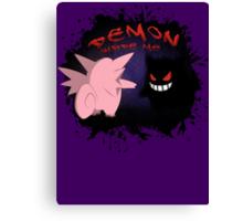 Demon Inside Me Canvas Print