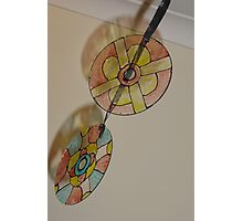 Painted Disks Photographic Print
