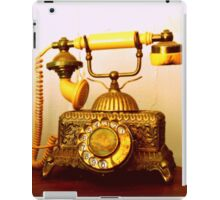 Antique Call... South Africa (Antique Telephone) iPad Case/Skin