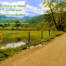 Psalm 23:1 by Lisa G. Putman