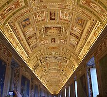 Ceiling Painting by Mary Lake