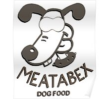 Meatabex Dog Food - Wallace and Gromit Poster