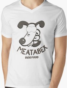 Meatabex Dog Food - Wallace and Gromit Mens V-Neck T-Shirt