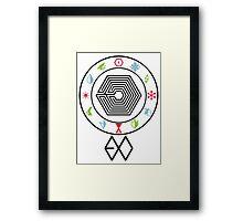 Exo Member New power Framed Print