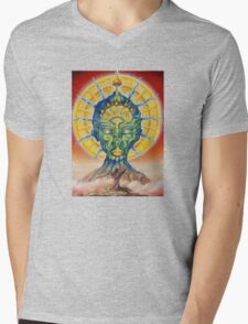 vision of the shaman Mens V-Neck T-Shirt