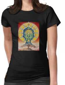 vision of the shaman Womens Fitted T-Shirt