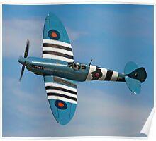Spitfire PR.XI PL965/R G-MKXI Poster
