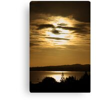 Face Of The Sky Canvas Print