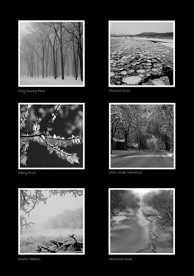 Winter in Vermillion by Dawne Olson