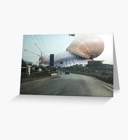 Vilosnail has finally arrived Greeting Card