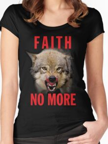 Faith No More Women's Fitted Scoop T-Shirt