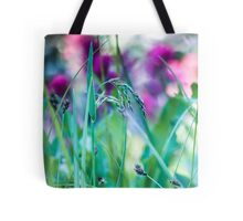 Vivid Grasses Tote Bag