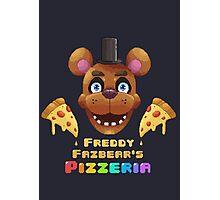 Freddy's Pizzeria Photographic Print