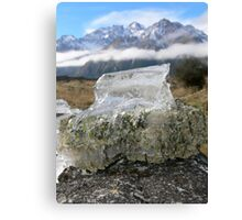 Frozen in Earth Canvas Print