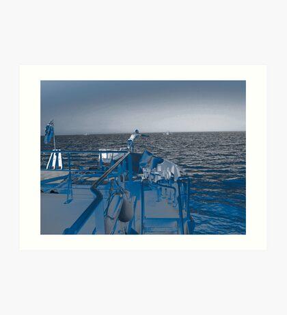 Shore Leave? Art Print