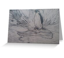 Penguin 2 Greeting Card
