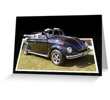 Classic VW ~ collaboration Greeting Card