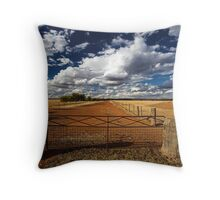 Avenue of Clouds Throw Pillow