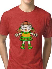 tangerine baby Tri-blend T-Shirt