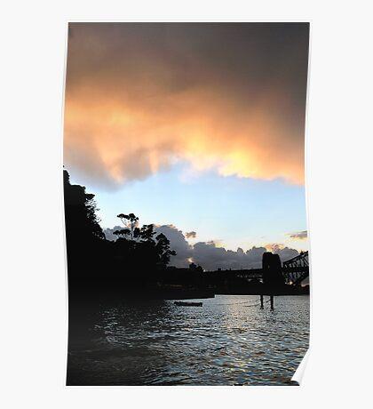 Light on the Bay - Sydney Harbour, Australia Poster