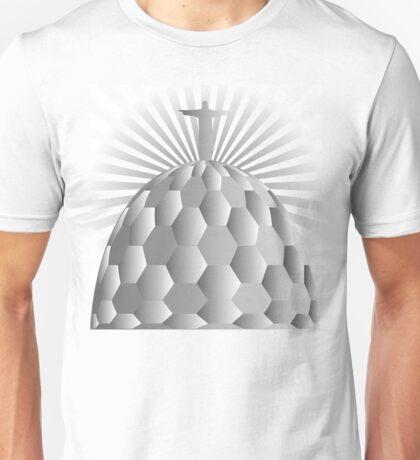 Jesus Redeemer in Rio de Janeiro Unisex T-Shirt