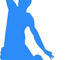 Blue Basketball Dunk by kwg2200