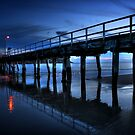Blue Causeway by Steve Chapple