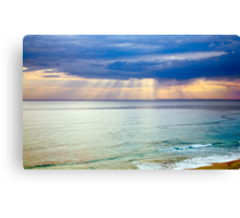 Sun of Portsea Canvas Print