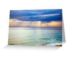 Sun of Portsea Greeting Card