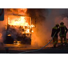 Ablaze Photographic Print