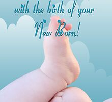 Many congratulations with the birth of your New Born!  by Qnita