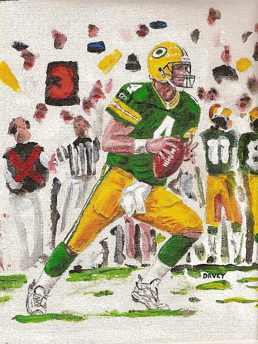 Brett Favre-- Set to Throw#2 by yevad98
